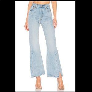 Levi's Ribcage High waist Flare leg Jeans